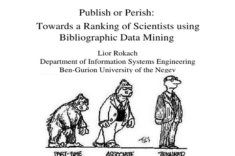 Homepage of Professor Lior Rokach
